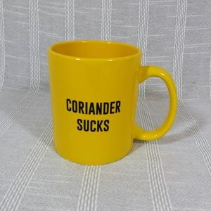 Coriander Sucks Coffee Tea Mug